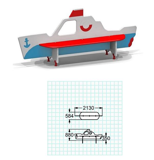 скамейки для лодок